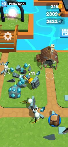 Buildy Island 3d: Hire&Craft Casual Adventure screenshot 1
