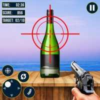 Real Bottle Shooting Games: Bottle Break Games 3D on 9Apps
