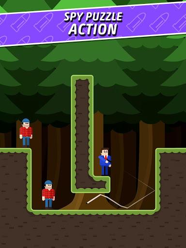 Mr Bullet - Spy Puzzles screenshot 9