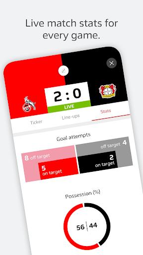 BUNDESLIGA - Official App 4 تصوير الشاشة