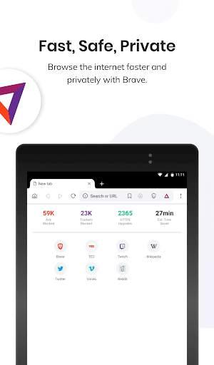 Brave Private Browser: Fast, safe web browser app screenshot 6