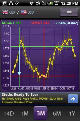 aCurrency (exchange rate) screenshot 2