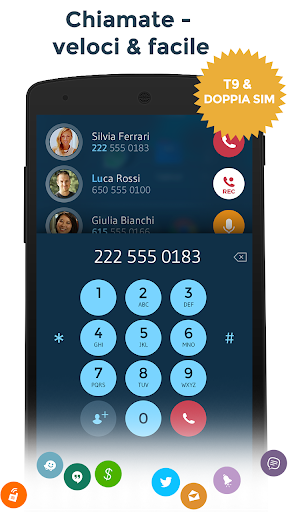 Contatti & Telefono - drupe screenshot 3