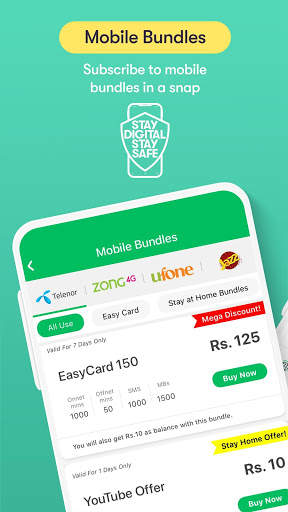 Easypaisa - Mobile Load, Send Money & Pay Bills screenshot 4