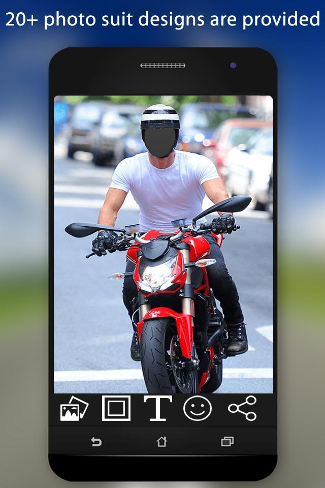 Bike Photo Suit screenshot 3