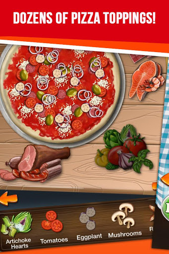 Pizza Maker - My Pizza Shop screenshot 4