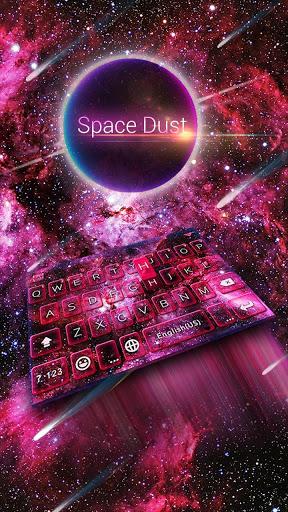 Spacedust Keyboard Theme screenshot 1