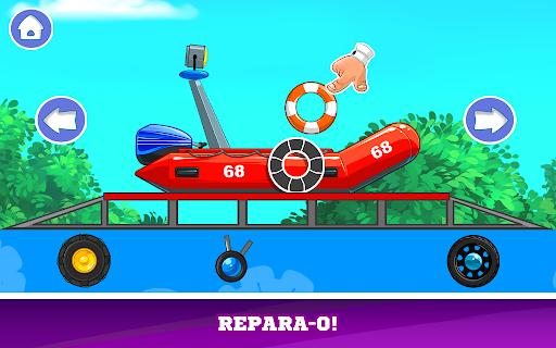 Kids Cars Games! Build a car and truck wash! screenshot 5