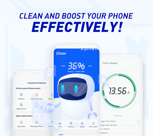 iClean - Booster, Super Virus Cleaner, Master screenshot 1