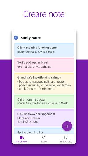 Microsoft OneNote: salva idee e organizza note screenshot 2