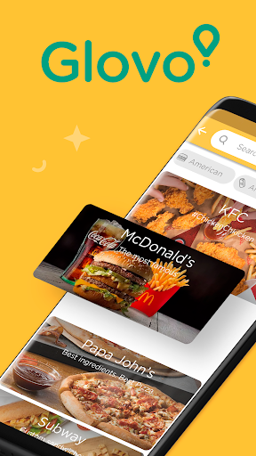 Glovo: Order Anything. Food Delivery and Much More screenshot 1