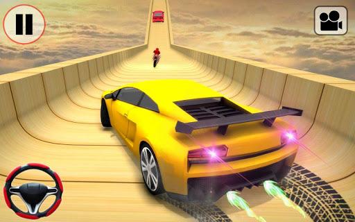 Car Stunt Ramp Race - Impossible Stunt Games screenshot 3