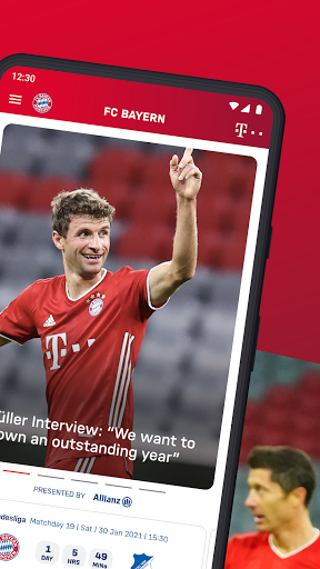 FC Bayern München - football news & live scores 2 تصوير الشاشة
