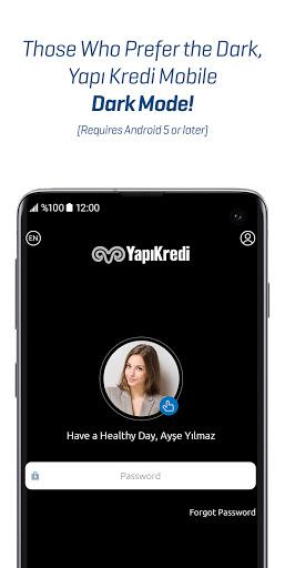 Yapı Kredi Mobile 4 تصوير الشاشة