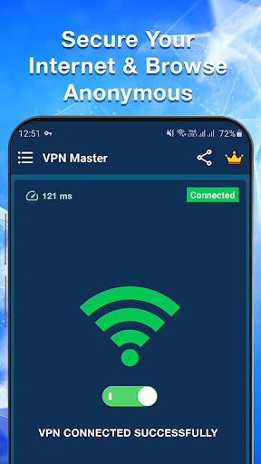 VPN Master - Free & Fast & Secure VPN Proxy screenshot 1