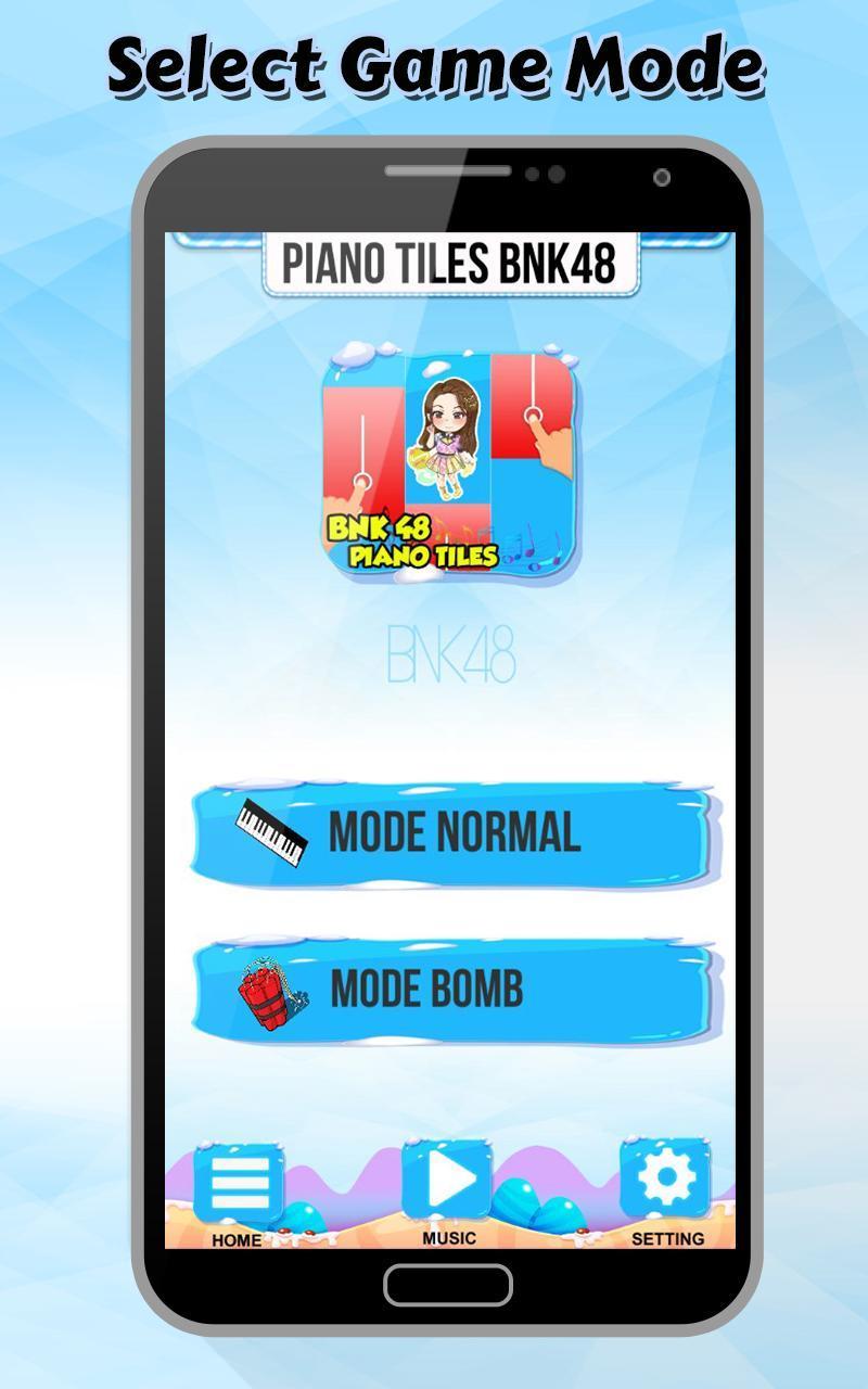 Piano Tiles BNK48 Games 2 تصوير الشاشة