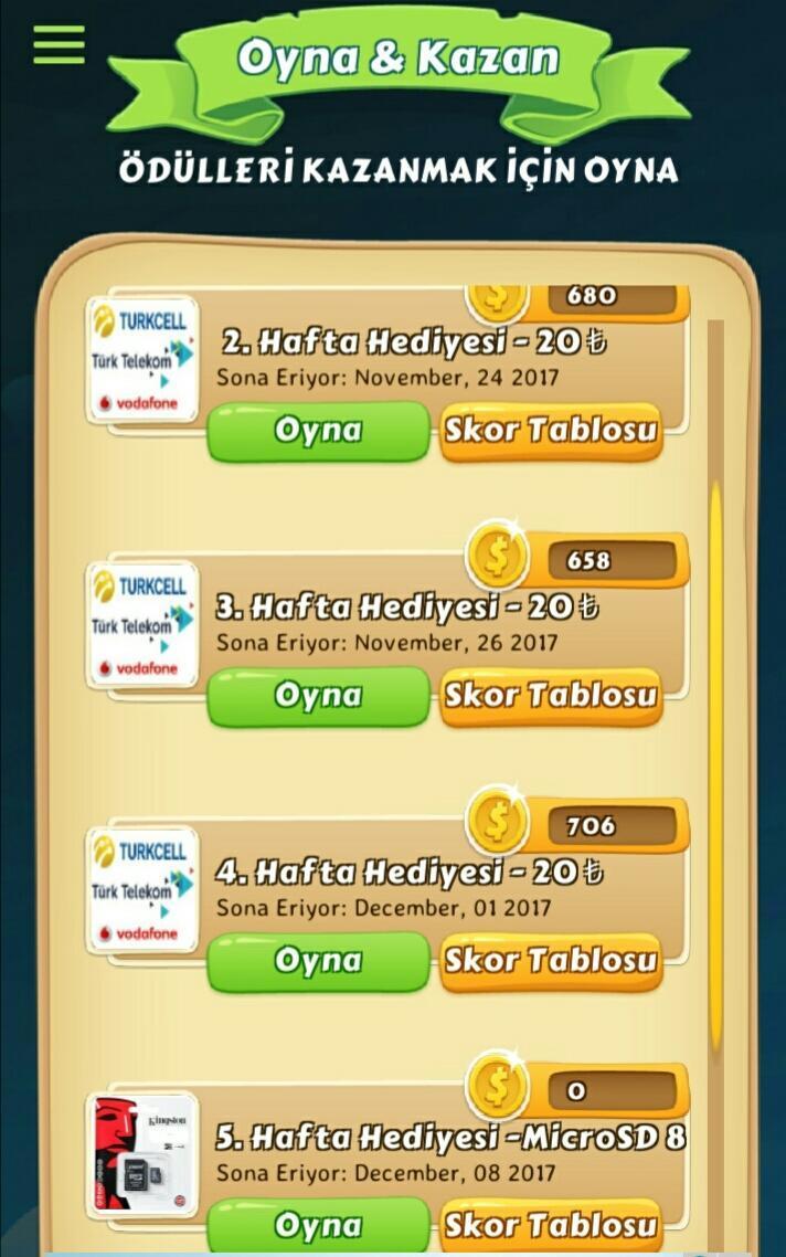 Ödüllü Bilgi Yarışması 4 تصوير الشاشة