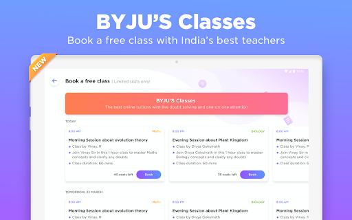 BYJU'S – The Learning App 18 تصوير الشاشة
