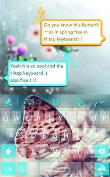 Butterflies for Hitap Keyboard screenshot 2