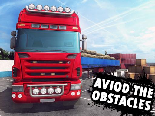 Big Truck Parking Simulation - Truck Games 2021 screenshot 14