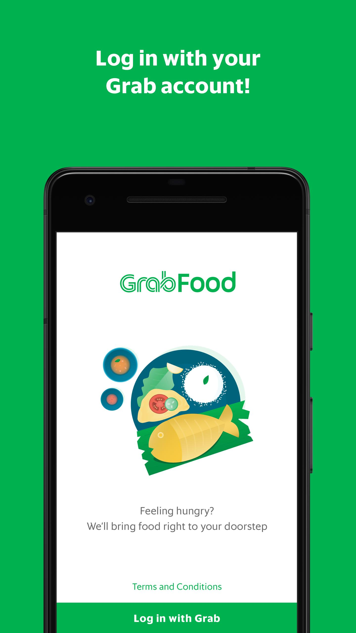 GrabFood - Food Delivery App скриншот 1
