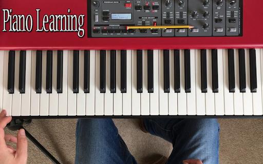 Real Piano Learning Keyboard 2020 4 تصوير الشاشة