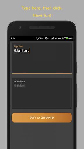 Hilih Generator скриншот 1