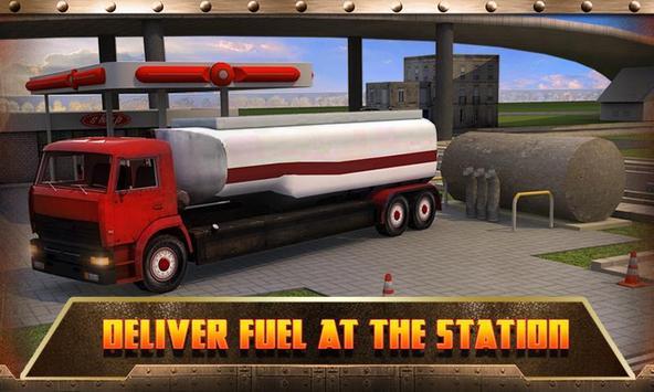Oil Transport Truck 2016 screenshot 2