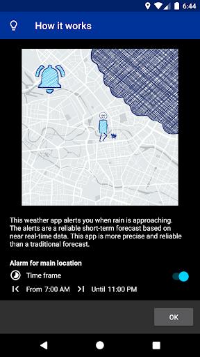 Rain Alarm 6 تصوير الشاشة