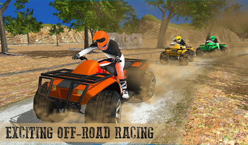 Offroad ATV quad bike racing sim: Bike racing game screenshot 10