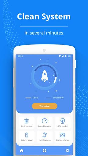 Rocket Cleaner - System Optimizer screenshot 1