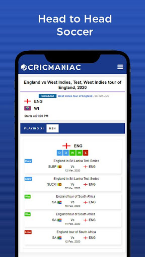 CricManiac - Live Cricket Scores screenshot 7