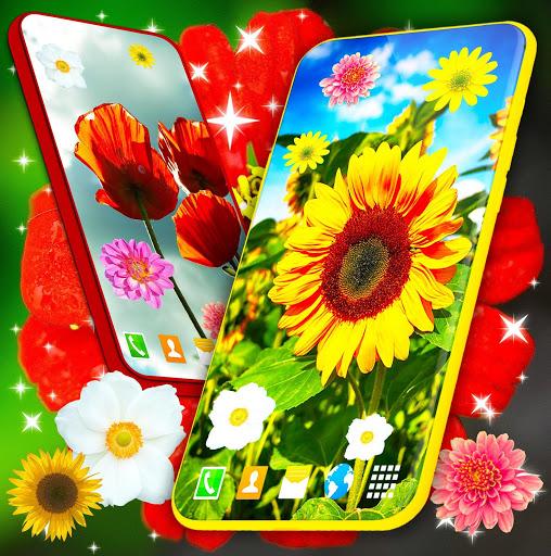 HD Summer Live Wallpaper 🌻 Flowers 4K Wallpapers screenshot 5