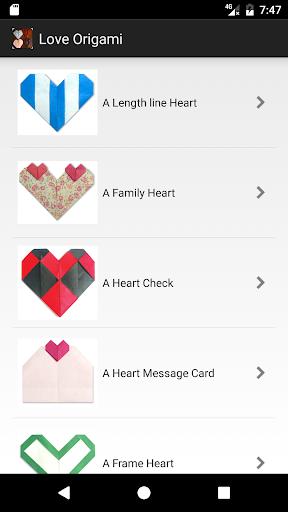 Love Origami screenshot 1