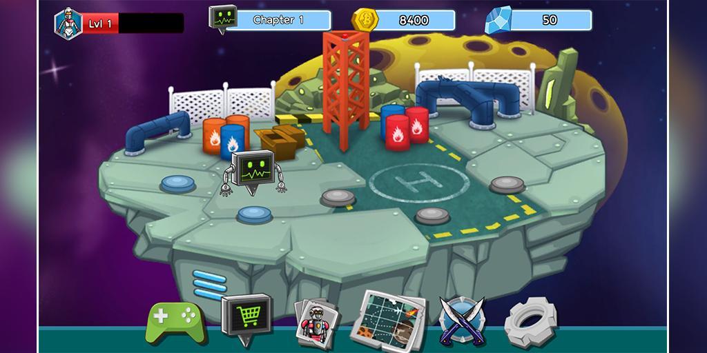 Robot Evolved : Clash Mobile 5 تصوير الشاشة
