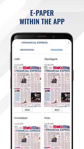 Financial Express - Latest Market News   ePaper screenshot 2