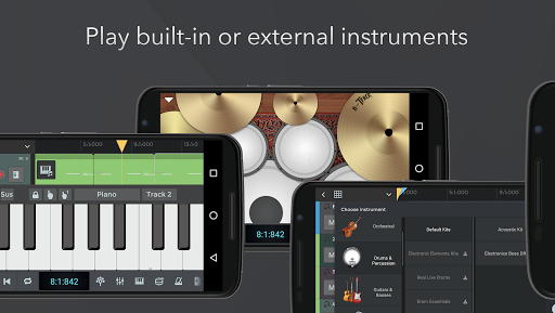 n-Track Studio DAW Beat Maker, Record Audio, Drums screenshot 4