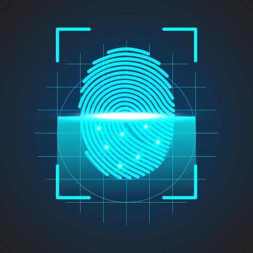 App Lock Fingerprint - A Made in India App أيقونة