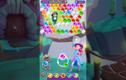 Bubble Witch 3 Saga 22 تصوير الشاشة