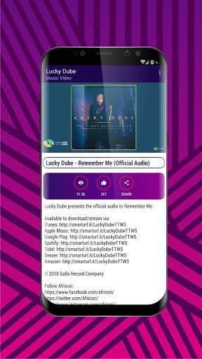 Lucky Dube Mp3 Songs Video screenshot 2