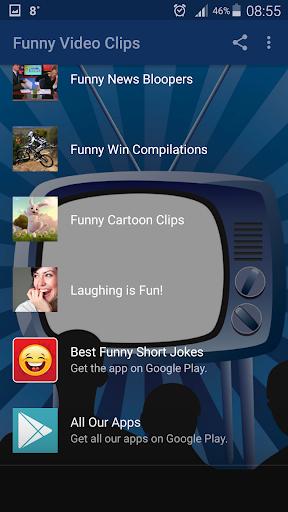 Funny Video Clips 3 تصوير الشاشة