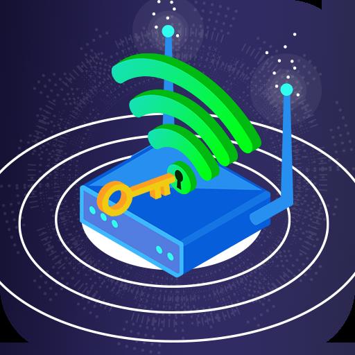 Wifi Password Hacker Prank & SpeedTest Master Lite icon