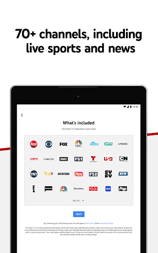 YouTube TV - Watch & Record Live TV screenshot 7