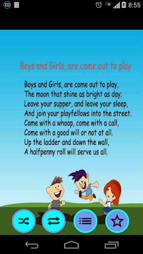 Free Nursery Rhymes App | Videos | Offline songs screenshot 7
