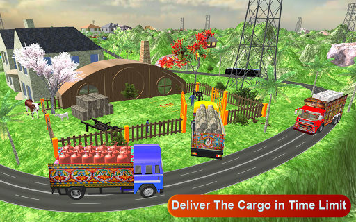 Indian Cargo Truck Driver : Truck Games screenshot 6