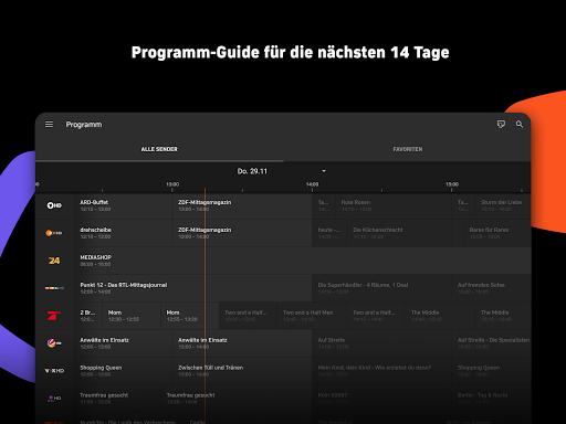 Zattoo - TV Streaming App screenshot 11