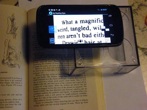 My Reading Eyes Free 1 تصوير الشاشة