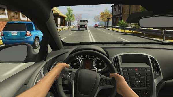 Racing in Car 2 1 تصوير الشاشة