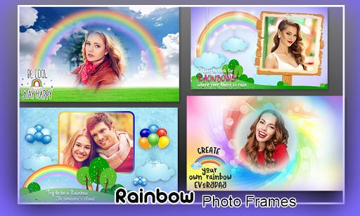 Rainbow Photo Frames 1 تصوير الشاشة