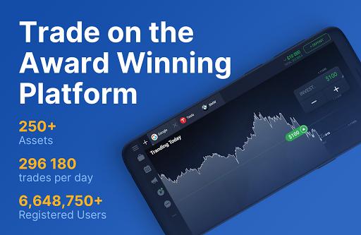 IQ Option – Online Investing Platform скриншот 5